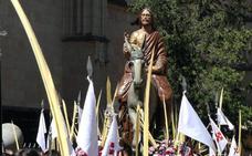 Programa de procesiones del Domingo de Ramos, 25 de marzo, en Segovia