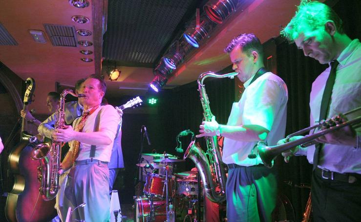 Concierto de Ray Collins Hot Club en la sala Porta Caeli de Valladolid