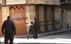 Así se produjo la agresión con arma blanca ocurrida el sábado en el centro de León