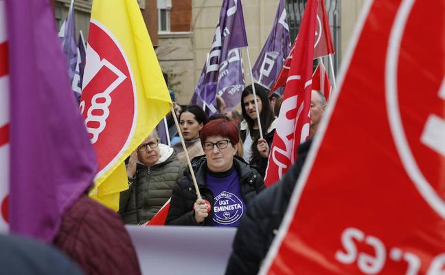 Palencia se vuelca en el Día Internacional de la Mujer