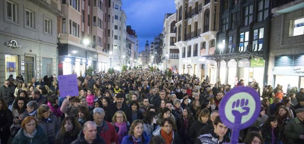 Más de 80.000 mujeres gritan en Castilla y León contra la discriminación