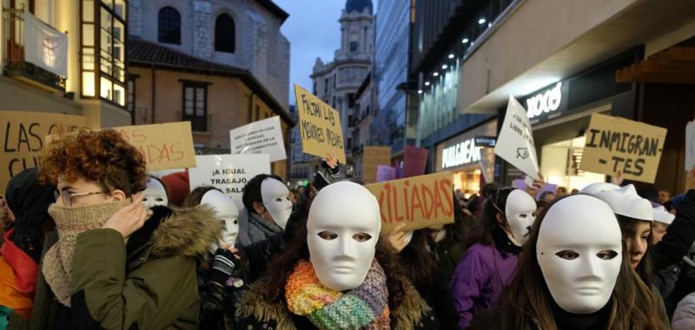14.000 personas gritan contra la desigualdad en Valladolid