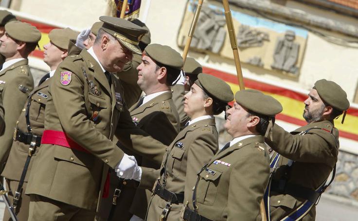 El general Guillén Bayón se despide del Mando de Ingenieros