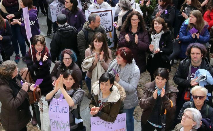 Concentraciones 8-M en Segovia