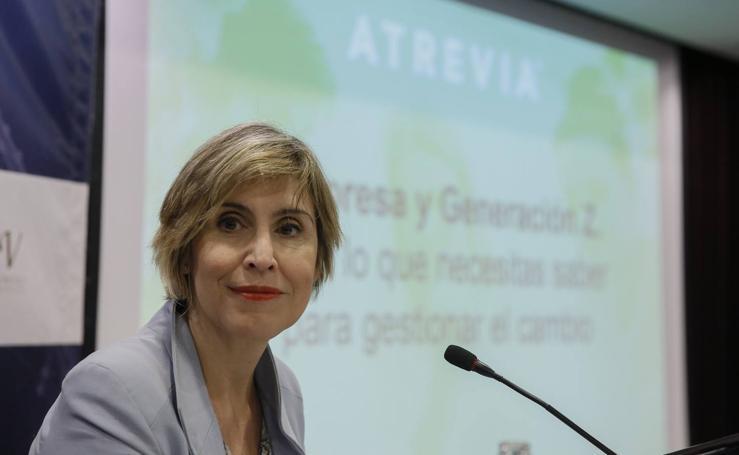 Núria Vilanova, en el Foro Económico de El Norte de Castilla