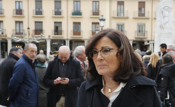 Acto institucional del Ayuntamiento de Palencia en el 8-M