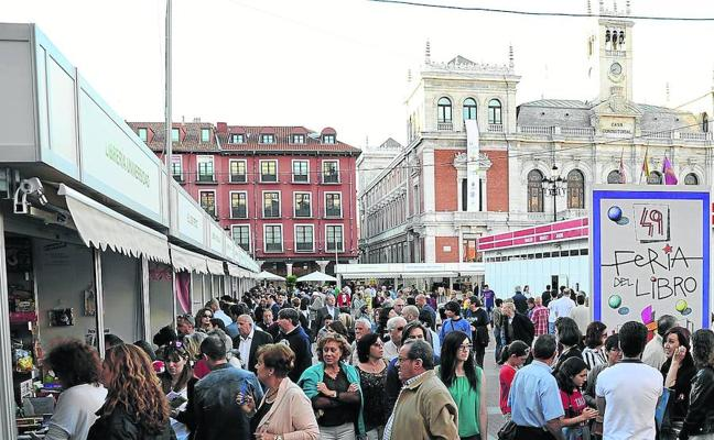 La Feria del Libro de Valladolid celebrará su 51 edición del 1 al 10 de junio
