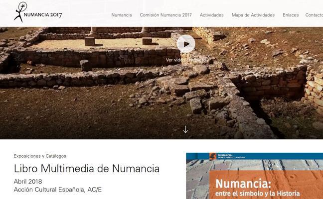 La web 'Numancia 2017' se estrena con una visión aérea inédita del yacimiento grabada con drones