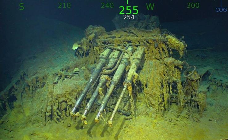 Hallan en Australia los restos de un portaaviones de la II Guerra Mundial
