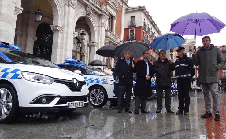 Nuevos vehículos para la Policía Municipal de Valladolid
