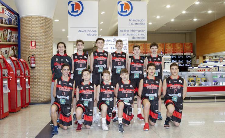 Presentación de los equipos del CB Tormes E.Leclerc Caja Rural de Salamanca