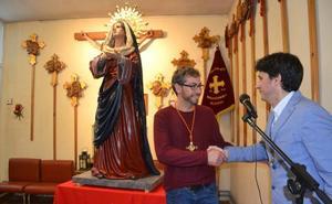 La Virgen del Perdón se estrena en la hermandad de La Misericordia