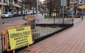 La renovación de plazas en el 'parking' de Zorrilla queda parada