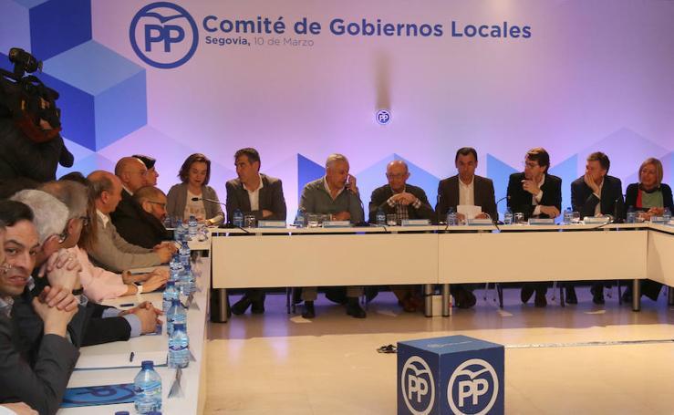 Comité de alcaldes del Partido Popular celebrado en Segovia