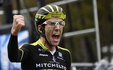 Simon Yates gana la séptima etapa y arrebata liderato a Luis León Sánchez