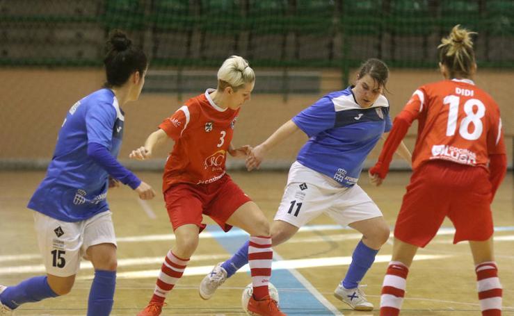 Unami - Colmenarejo de Segunda División femenina de fútbol sala