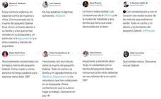 Los políticos de Castilla y León se suman al dolor por el hallazgo del cadáver de Gabriel Cruz