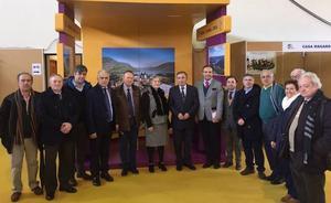 Autoridades salmantinas y lusas se dan cita en la Feria Transfronteriza de Freixo