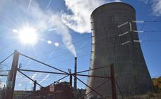Las centrales térmicas fueron la tercera fuente de energía en 2017