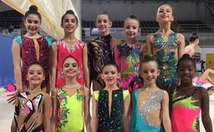 El Club Rítmica Salamanca mete a todas sus gimnastas en el Nacional