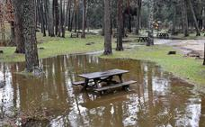 Seis ríos de Segovia registran su máximo caudal del año por el deshielo