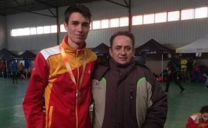 Mario García, subcampeón de España de cross sub-20 en Mérida