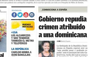 La detención de Ana Julia Quezada, en la prensa dominicana