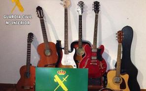 'Operación melodía': esclarecido el robo de instrumentos musicales en Ávila