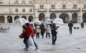 Salamanca superó su récord de precipitaciones durante el paso de 'Félix'