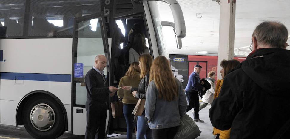 Dos nuevas rutas de transporte empezarán en abril en la provincia y otras tres sufrirán cambios