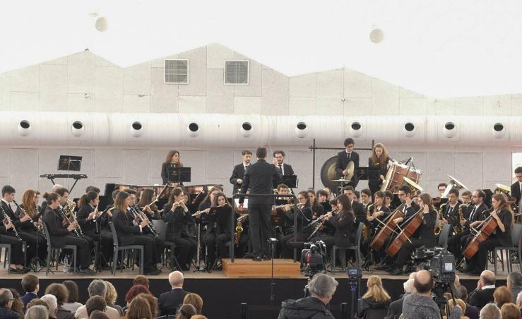 La Banda Sinfónica de Arroyo presenta su disco 'Processionare'