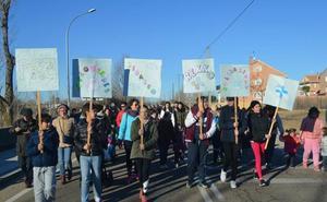 Cuando la solidaridad deja huella en los escolares