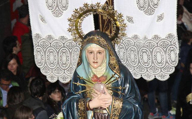 Programa de procesiones del Sábado Santo, 31 de marzo, en Palencia