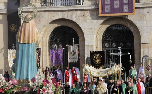 Programa de procesiones del Domingo de Resurrección, 1 de abril, en Palencia