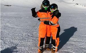 Escapada romántica a la nieve de Cristiano Ronaldo y Georgina Rodríguez