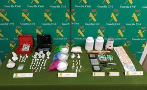 Desmantelan una red de distribución de drogas que operaba en Cigales y Renedo