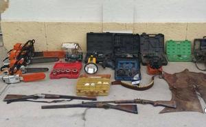 Desarticulada una banda que cometió ocho robos en la comarca de Ciudad Rodrigo