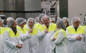 Herrera agradece al sector agroalimentario su fortaleza durante los años duros de la crisis