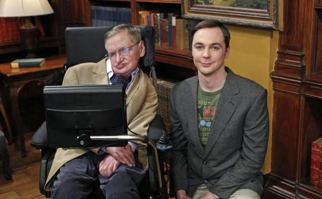 'The Big Bang Theory' y Stephen Hawking