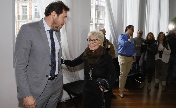 Concha Velasco presenta en Valladolid el estreno de 'El Funeral'