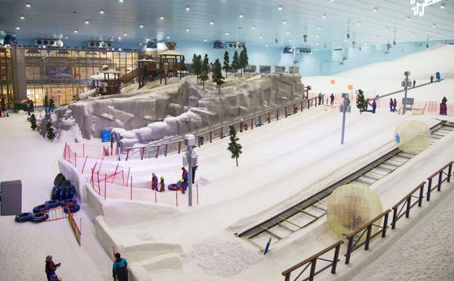 La atracción egipcia, más allá del esquí