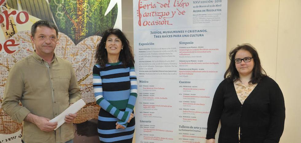 Las culturas judía, musulmana y cristiana protagonizan la Feria del Libro Antiguo de Valladolid