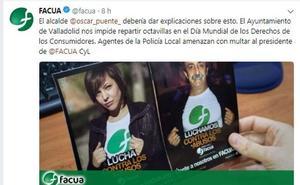 El alcalde de Valladolid pide disculpas a Facua por un incidente con la Policía