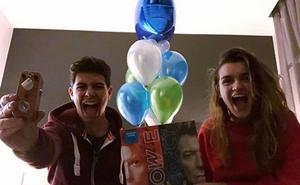 Alfred celebra su primer cumpleaños tras 'OT 2017'