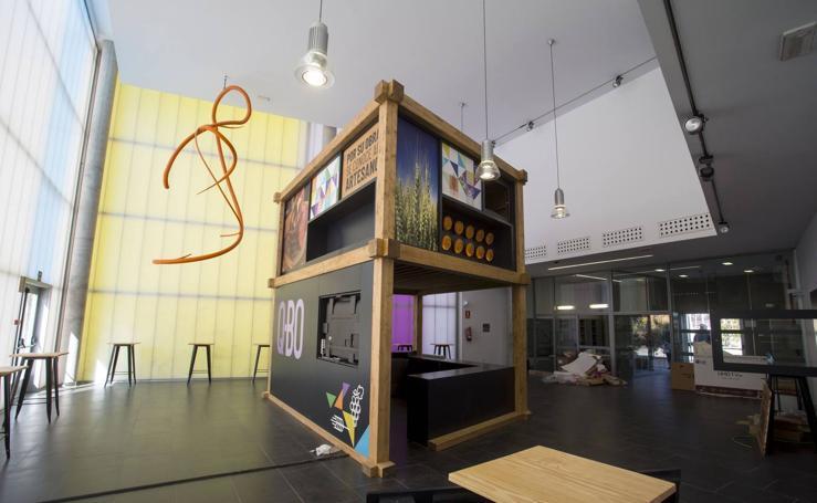 La Diputación de Valladolid ultima la apertura del edificio 'Q-BO'