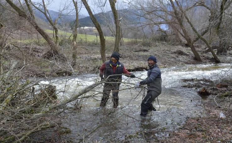Reparación de los daños causados por el temporal en El Espinar