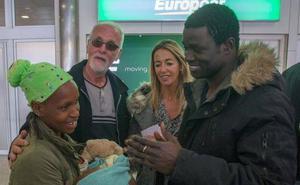 Localizan en Pamplona al bebé guineano y su madre tras una semana desaparecidos