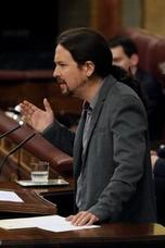 Pablo Iglesias ve «inaceptable» que un 'mantero', que «trabaja para vivir, tenga que salir corriendo»
