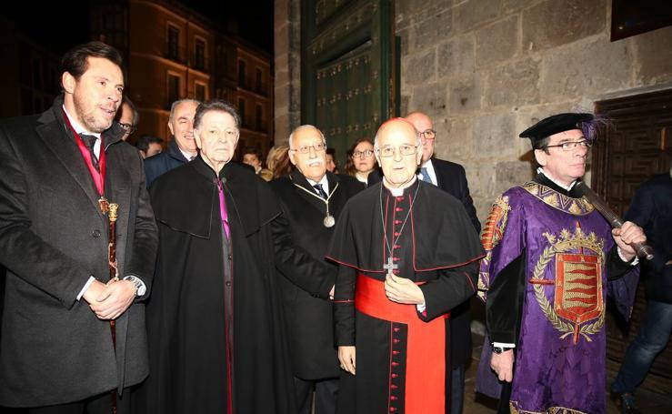 Ángel María de Pablos pronuncia el pregón de la Semana Santa de Valladolid