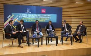 La formación de estudiantes por la Universidad de Valladolid redujo el 3% la tasa de paro de la región